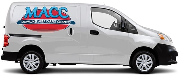 Milwaukee Area Carpet Cleaning Services Van